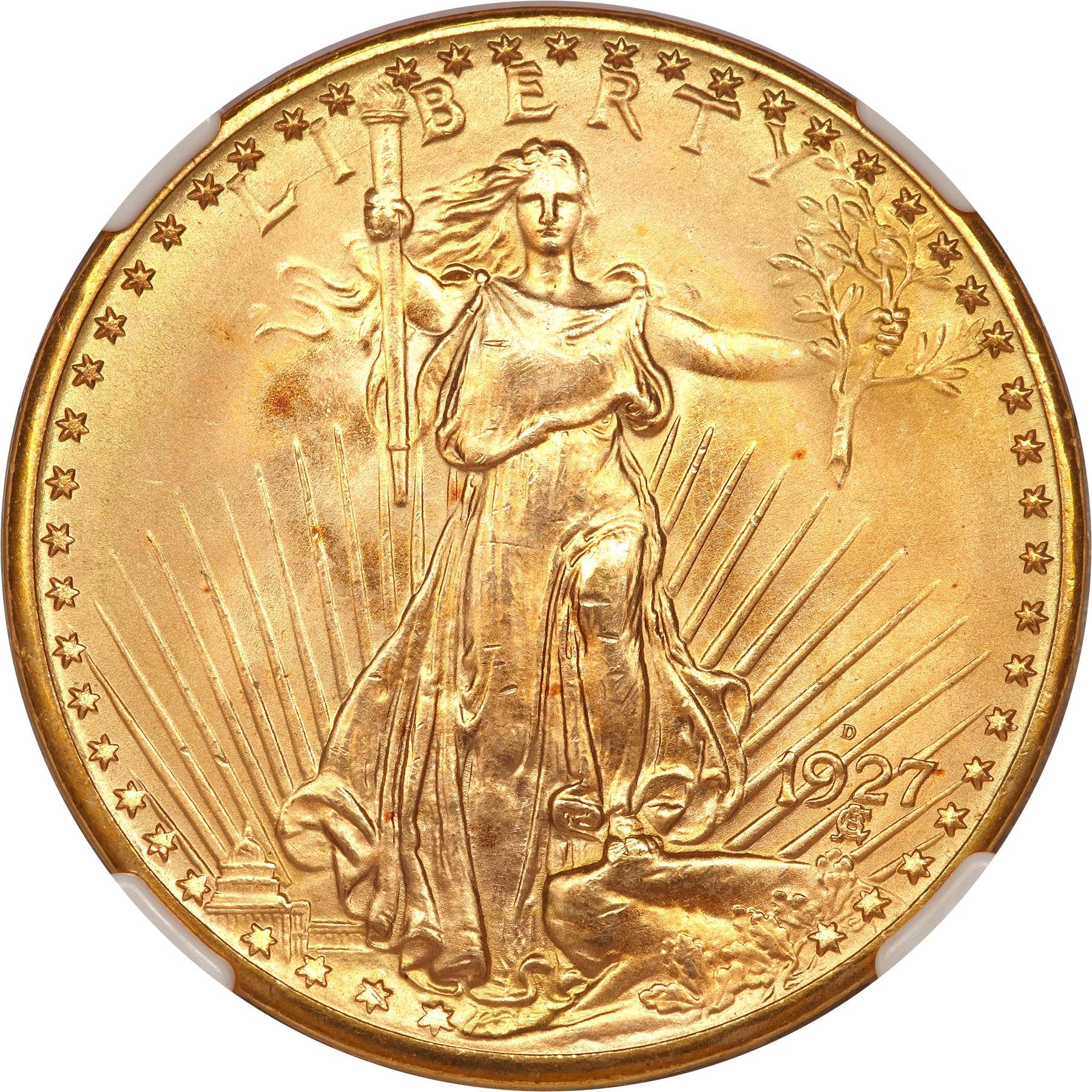 20 dollars 1927 Denver - avers