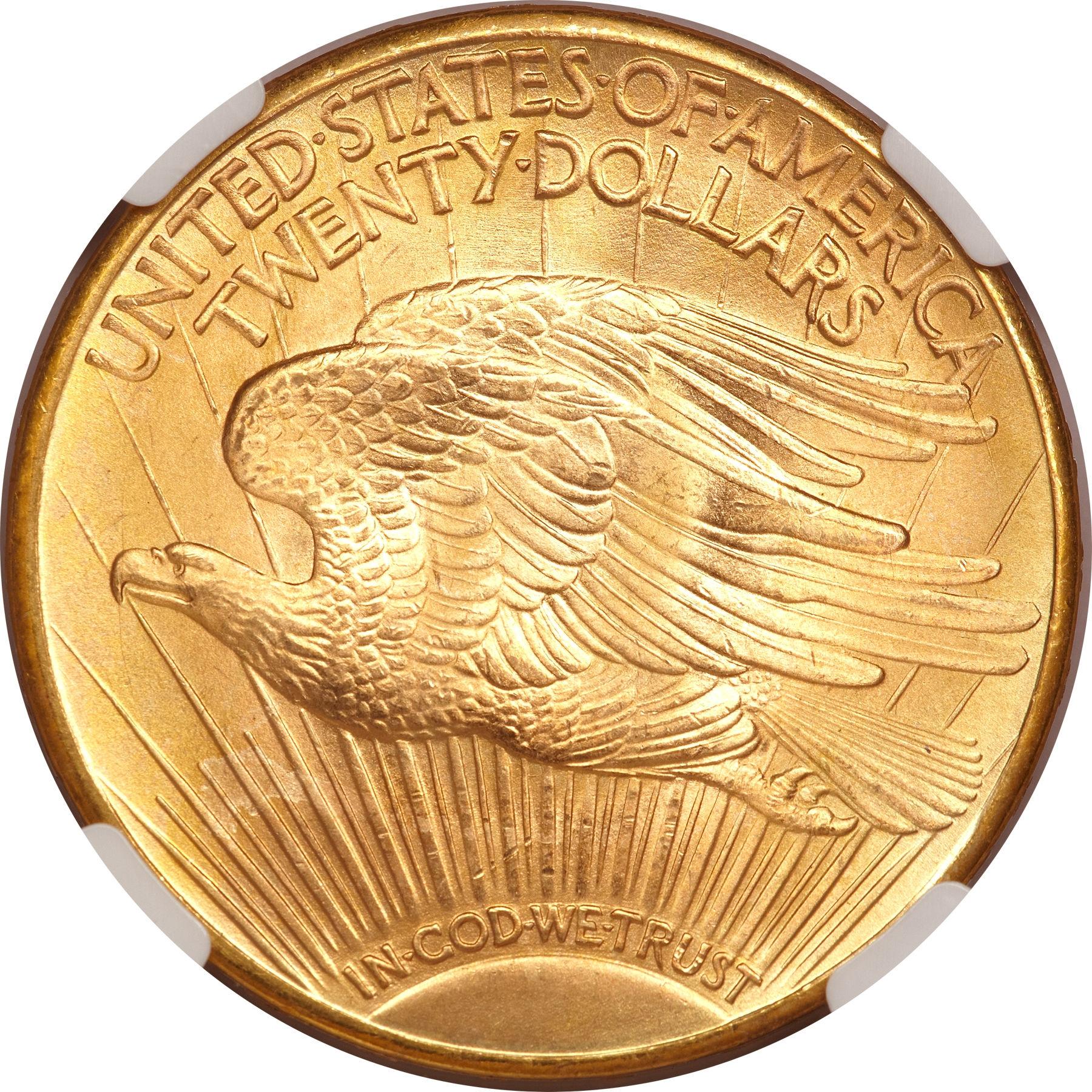 20 dollars 1927 Denver - revers