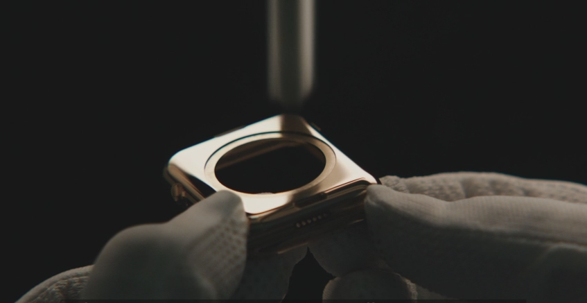 méthode de fabrication de la Apple Watch 18 carats