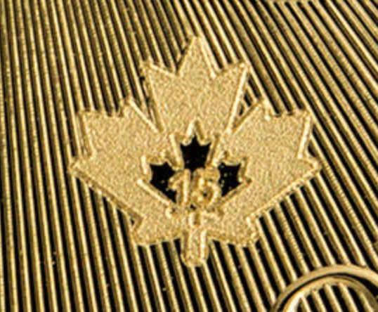 micro gravure maple leaf or