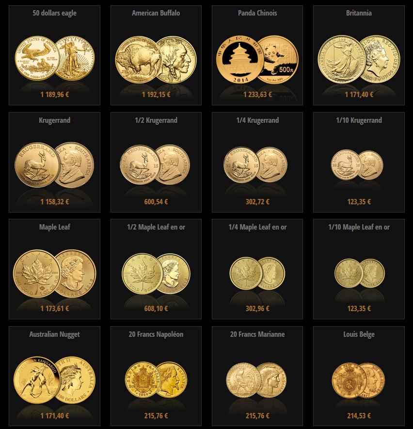 orobel investir dans l 39 or choisir entre les pi ces en or et les lingots en or. Black Bedroom Furniture Sets. Home Design Ideas