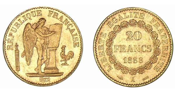 info actualite orobel presentation de tous les  francs napoleon or