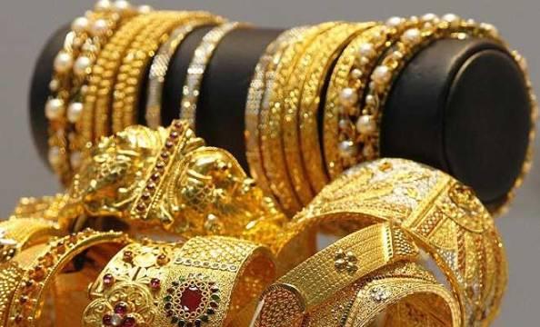 Les bijoux en or en Inde.