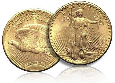 20 dollars double eagle 1933