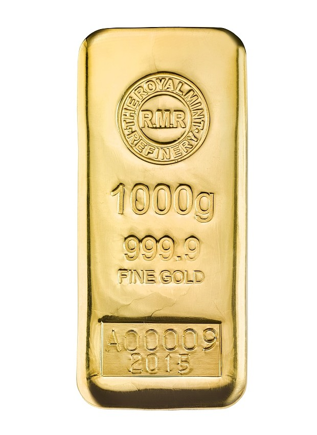 The New 1 Kg Gold Bar By Royal Mint