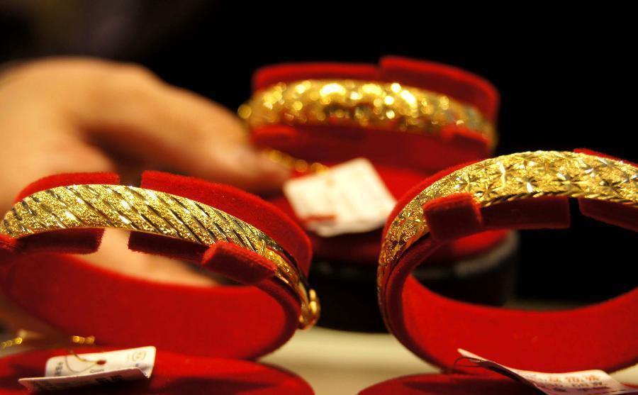 bijoux or chine
