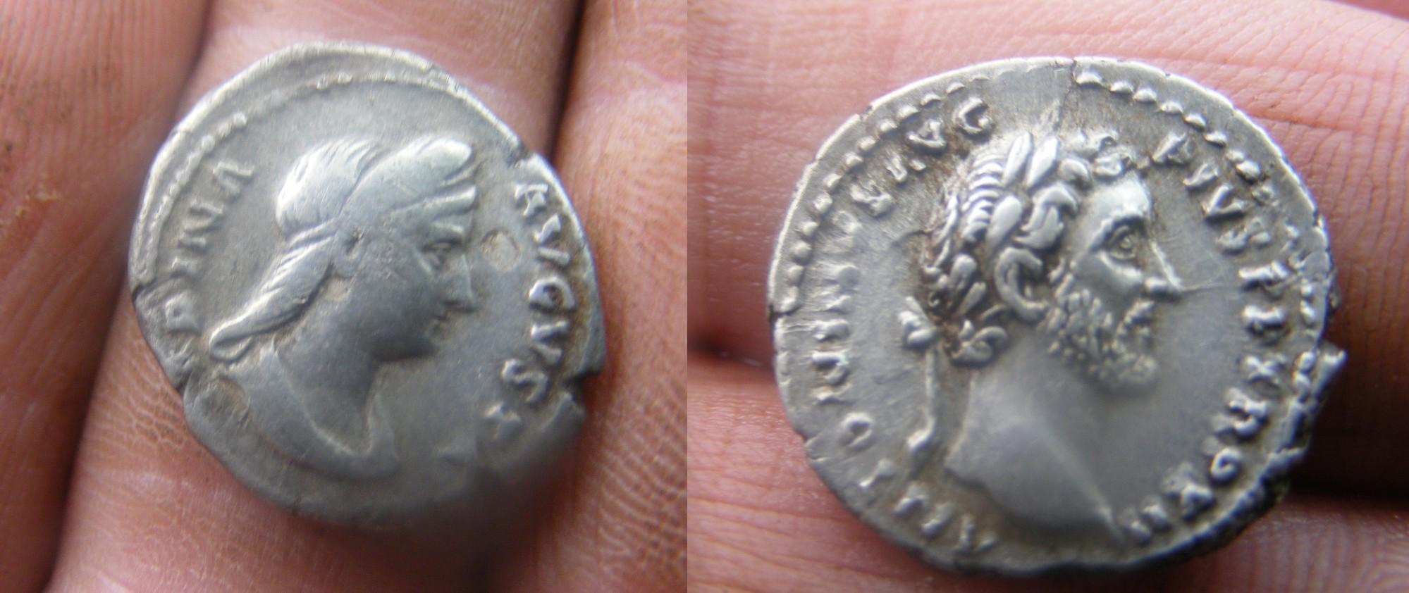 trésor 250 deniers romains