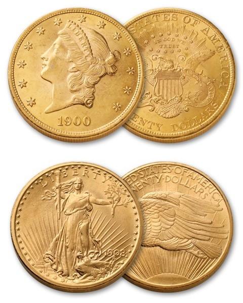 20 Dollars American Gold Coin