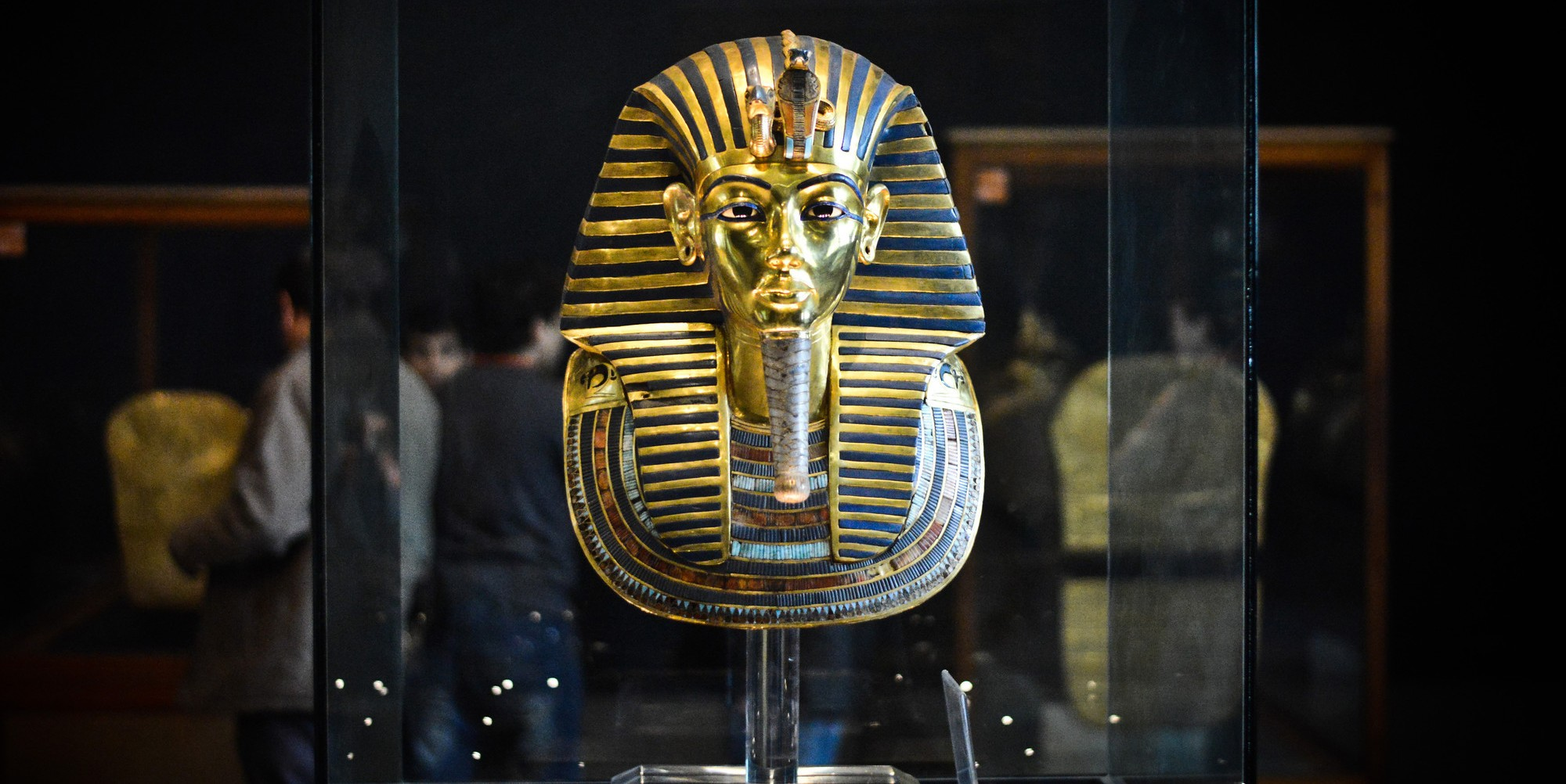 masque or pharaon toutankhamon