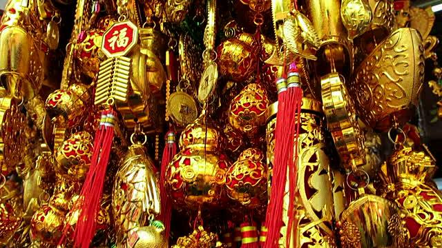 gold asian culture