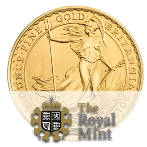pièce or Britannia Royal Mint