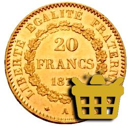 acheter francs or napoleon