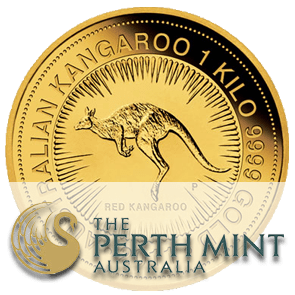 pièce or Australian Nugget Perth Mint