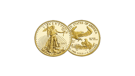 dixième once gold eagle