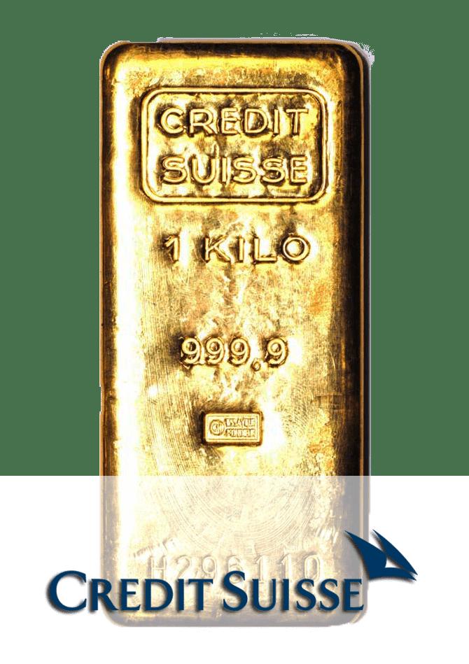 lingot or 1 kg credit suisse