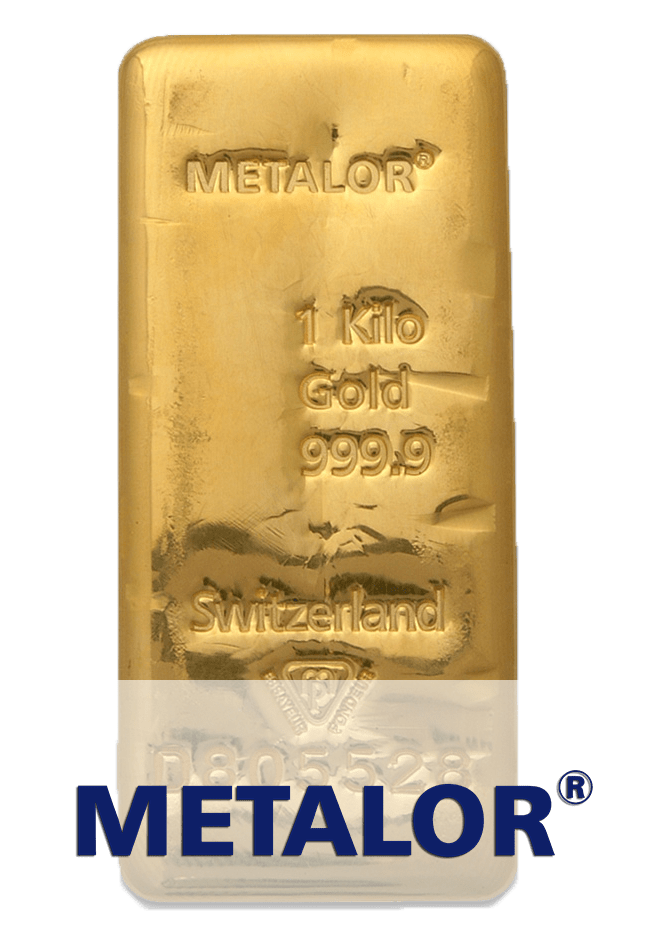 lingot or 1 kg metalor