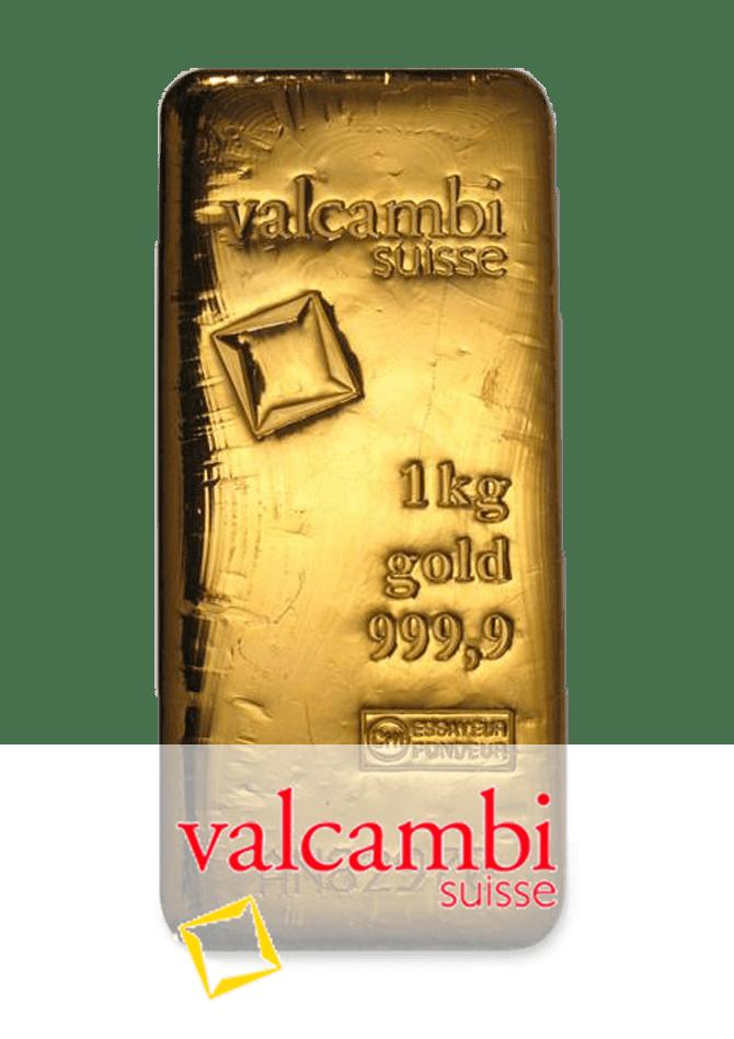 lingot or 1 kg valcambi