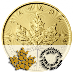 pièce or Maple Leaf Royal Canadian Mint