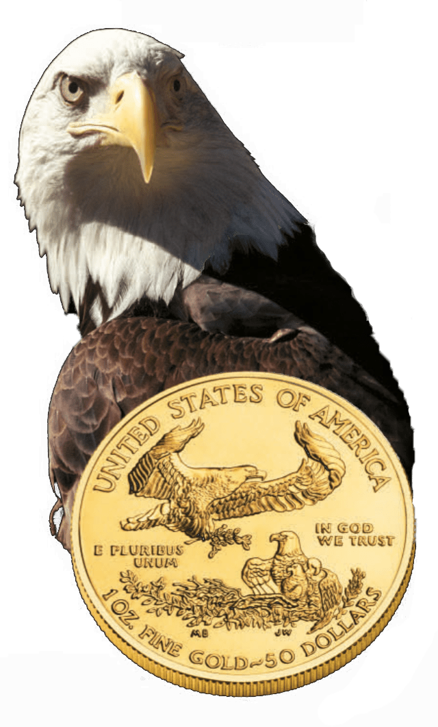pièce d'or American Eagle