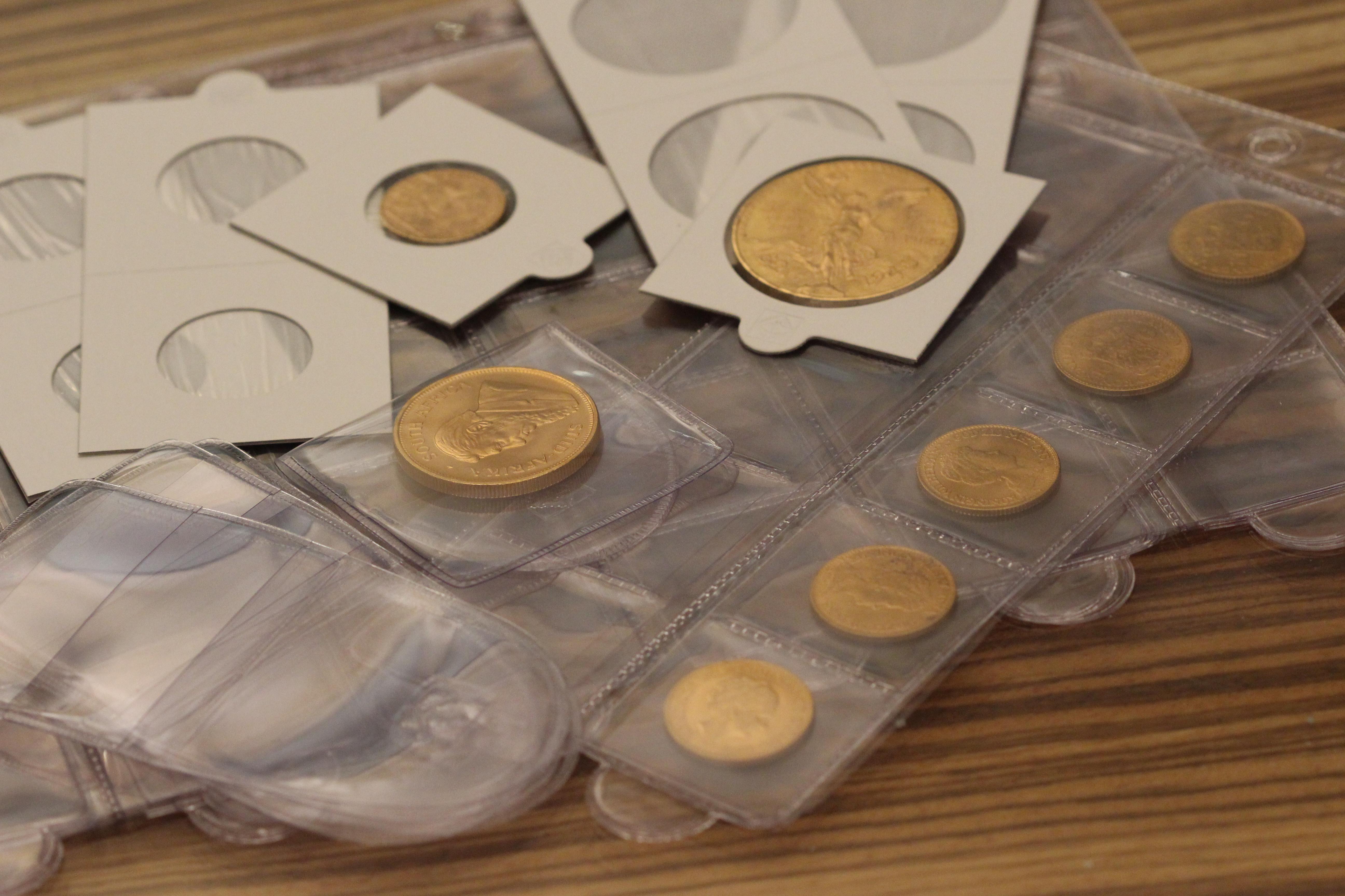 pièces d'or boursables