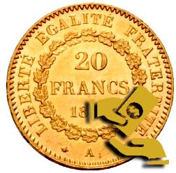 vendre francs or