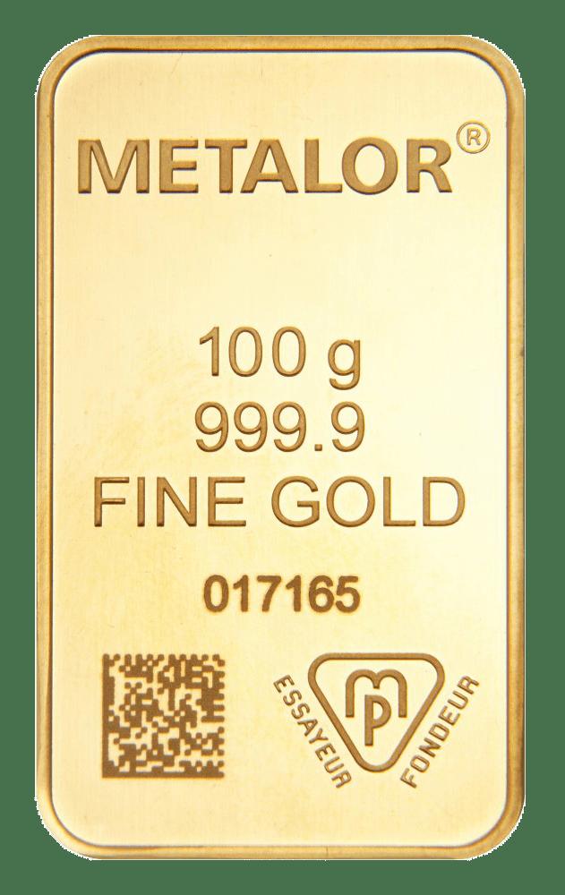 100g Metalor