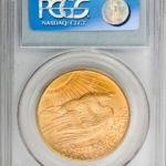 20 Dollars or 1927 D revers