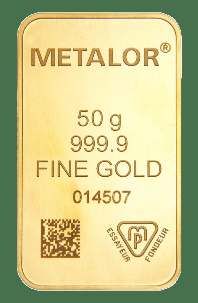 50g Metalor
