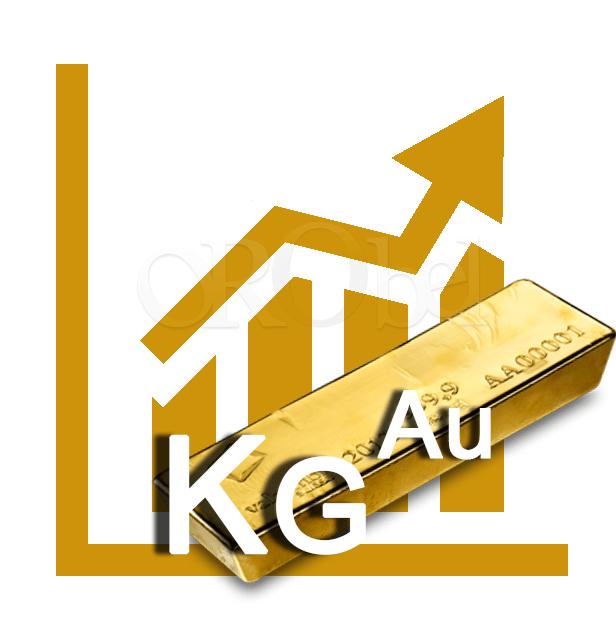 cours du kilo d'or