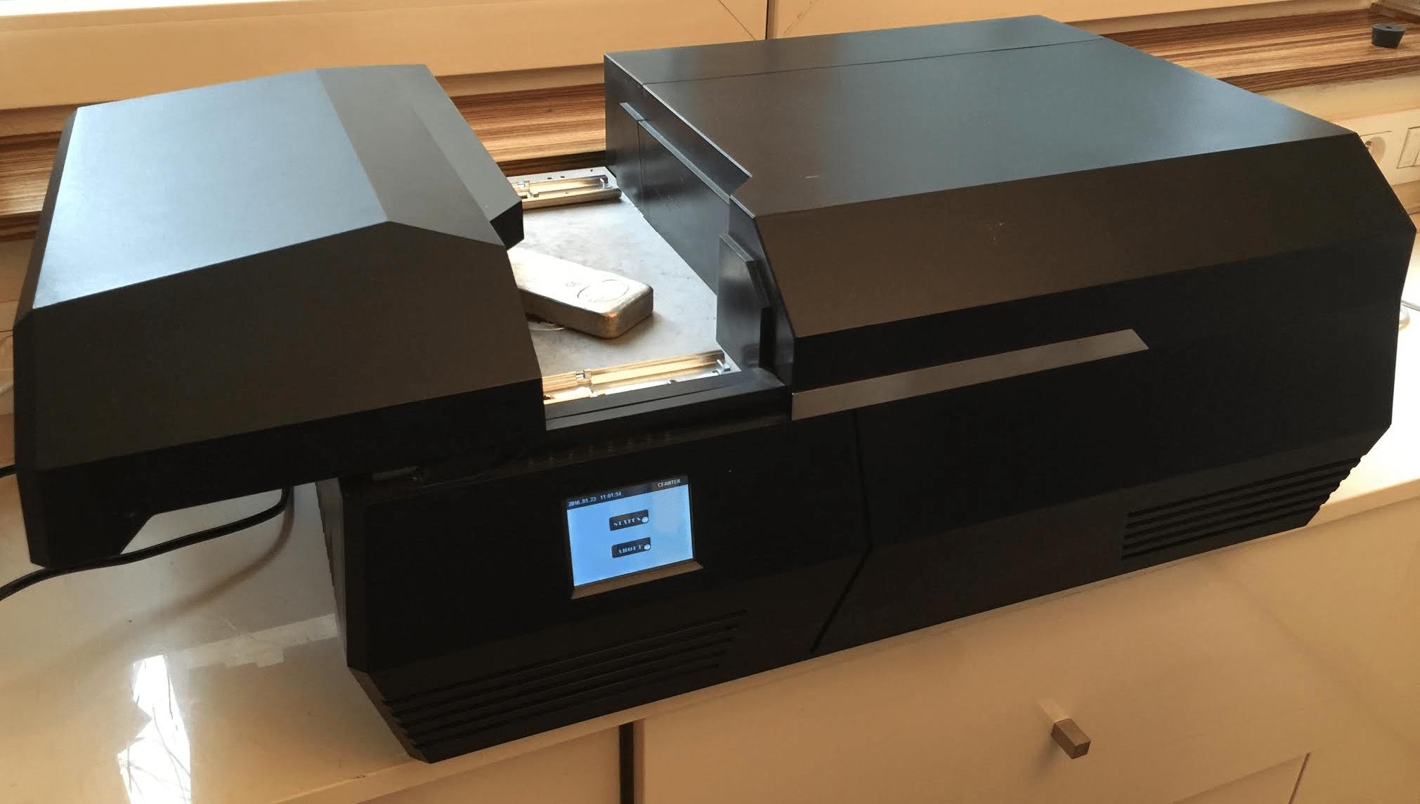 spectromètre fluorescence X