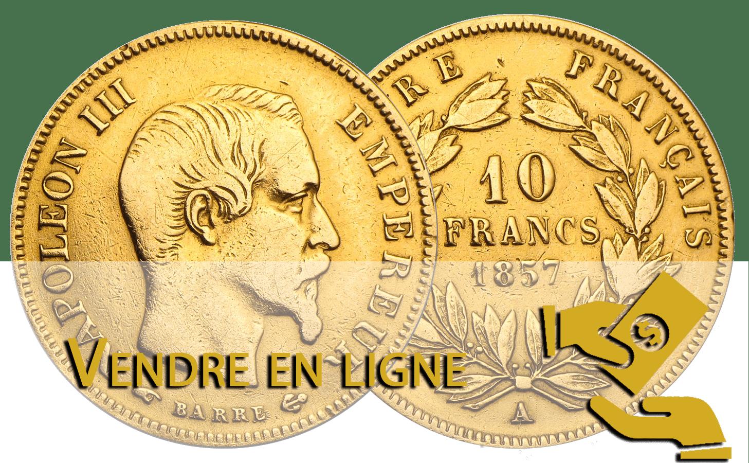 vendre 10 francs or