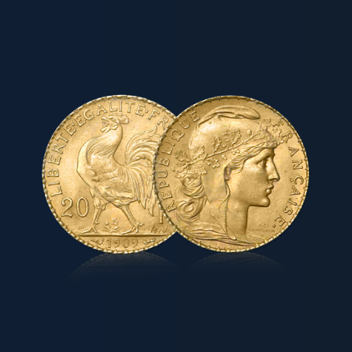 20 francs marianne coq orobel
