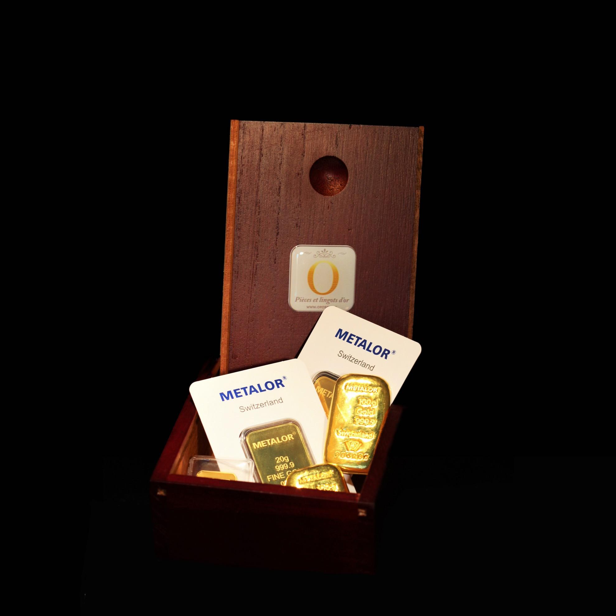Lingot de 10 Grammes d'Or