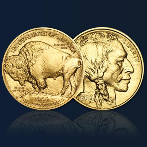 acheter piece en or 50 dollars buffalo orobel