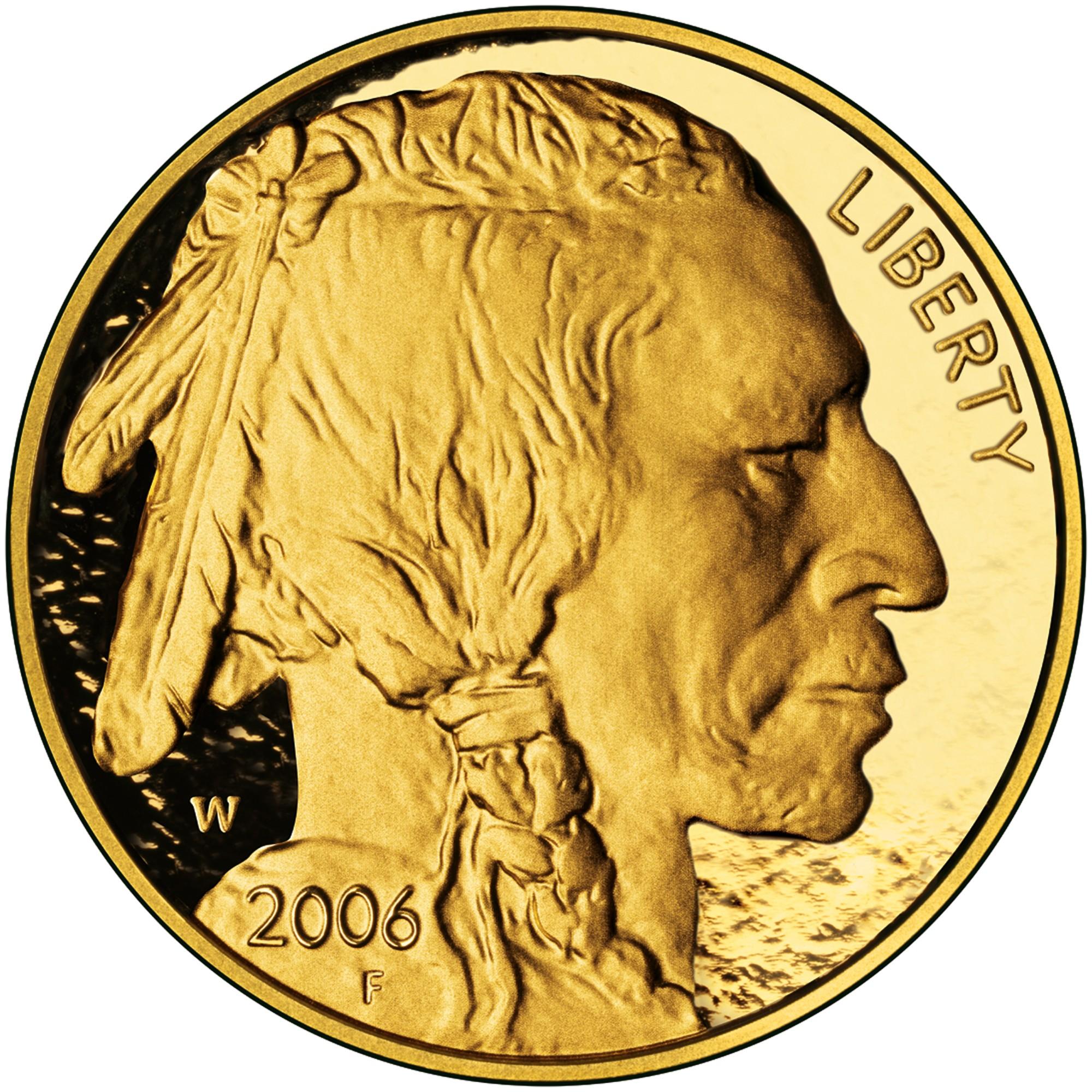 50$ American Buffalo - Avers