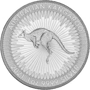 2021 kangaroo 1 oz silver perth mint bullion coin reverse orobel shop online bullion
