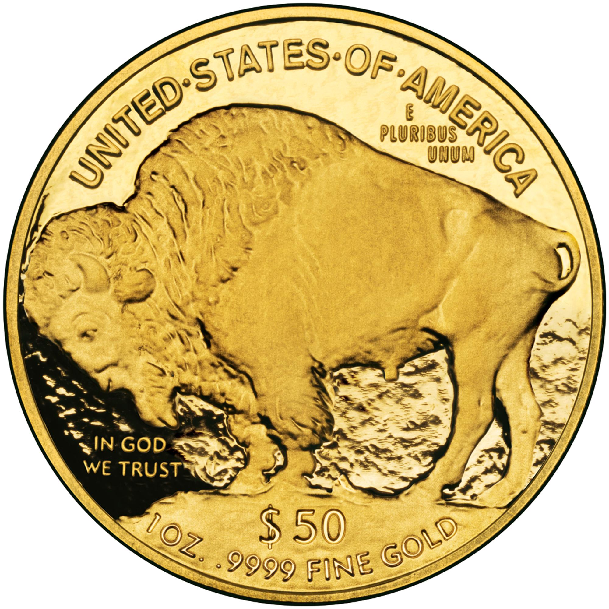 50$ American Buffalo - Revers