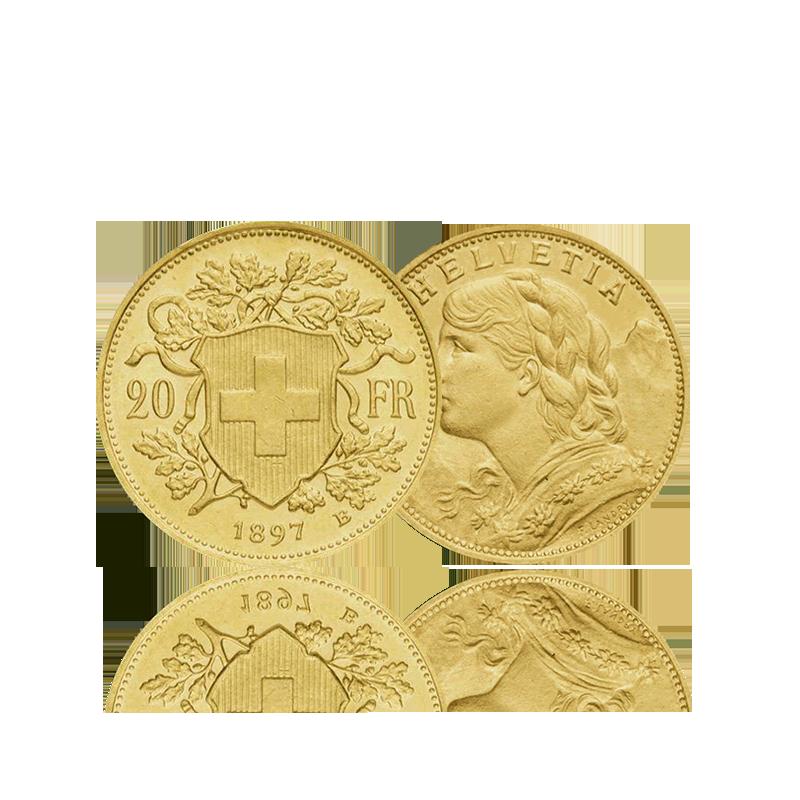 20 Francs Suisse (Vrenelis)