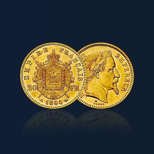 20 francs napoleon pieces or orobel 1