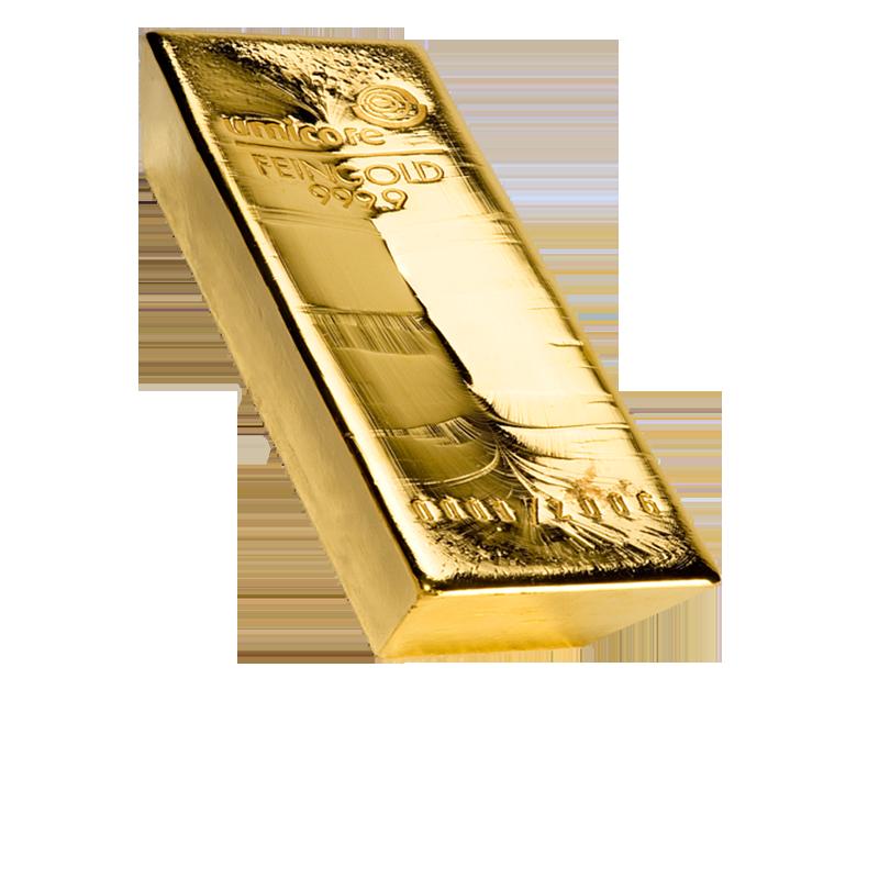 Lingot de 12.5 kg d'Or