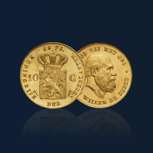 acheter pieces en or 10 gulden florins orobel