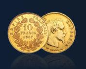 acheter pieces en or orobel 10 francs francais