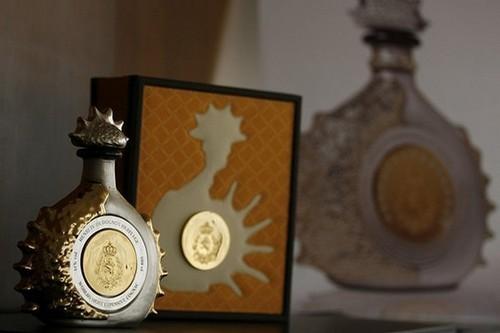 bouteille cognac or Henry IV dudognon