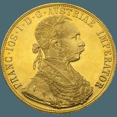 4 ducats 1915 en or