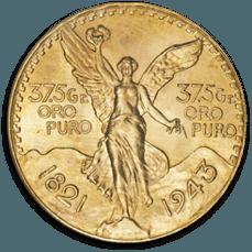 cours du 50 Pesos or