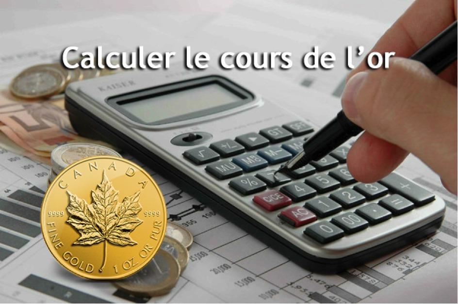 Comment Calculer Le Cours De L Once Et Du Kilo D Or Orobel
