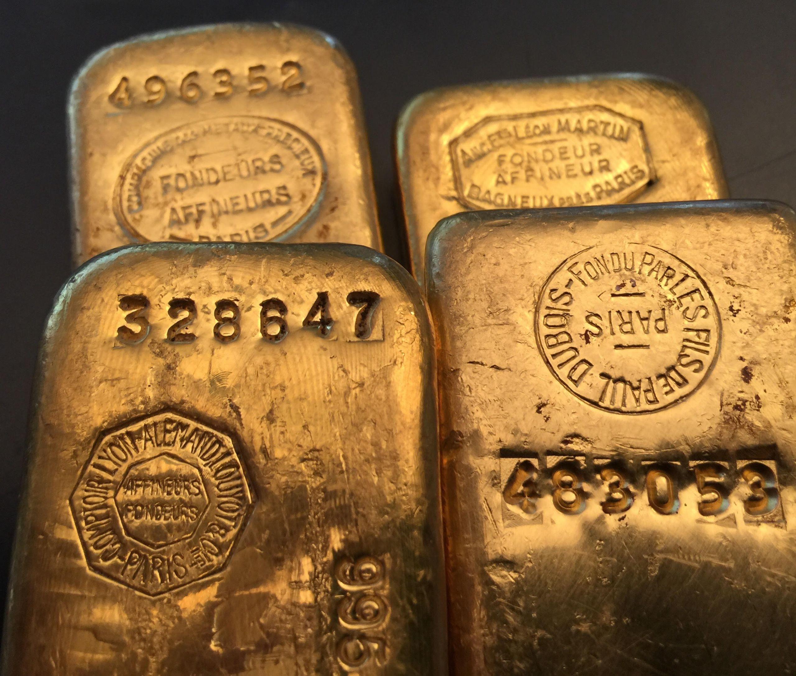lingots d'or français