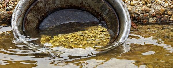 Extraire de l'or - méthode orpaillage