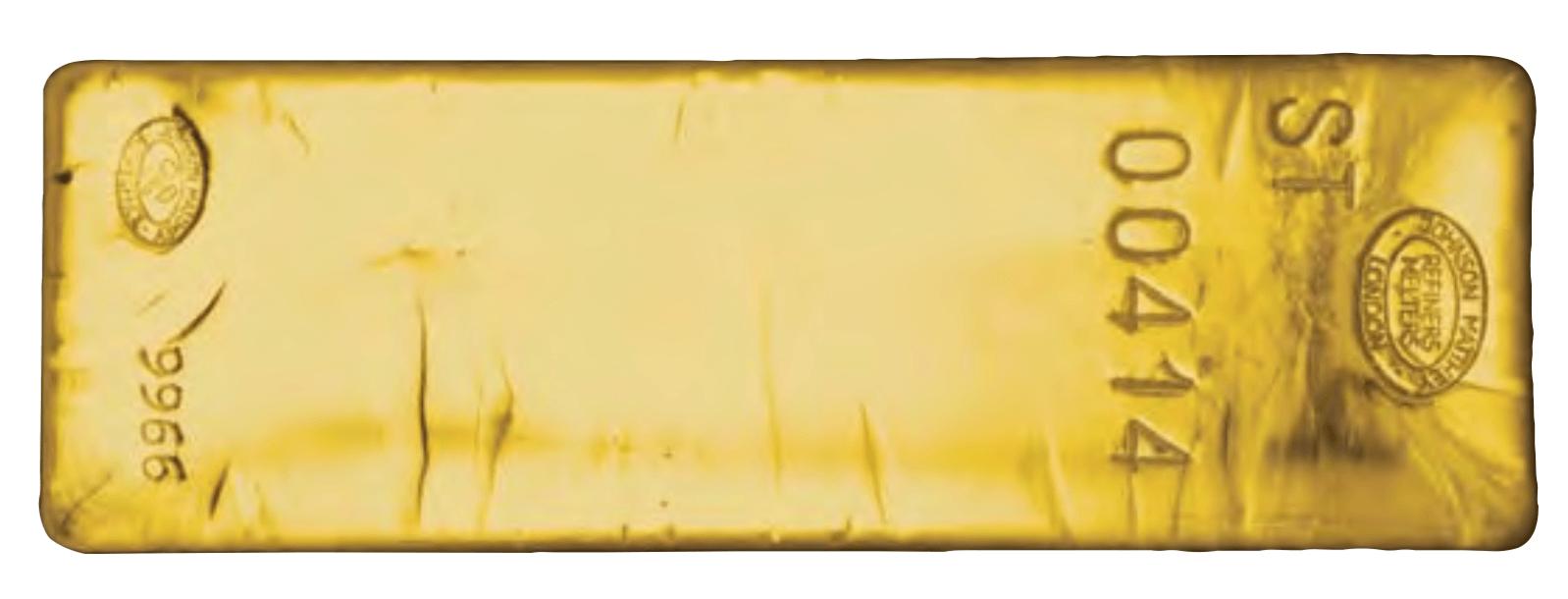 barre d'or bonne livraison Johnson Matthey