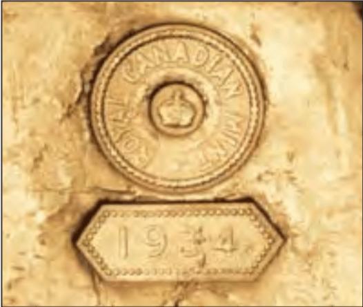 poinçon Royal Canadian Mint
